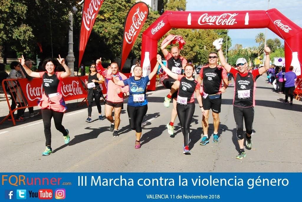 Fotos Marcha contra la violencia de género Valencia 2018