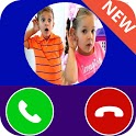 Kids Diana Fake Video Call - Prank Chat Call Video icon