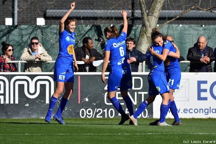 """KAA Gent Ladies kropen uit het dal met klinkende zege in Beker: """"Boost richting play-offs"""""""