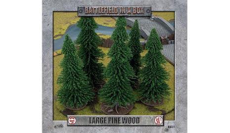 Large Pine Wood (x1) - 30mm