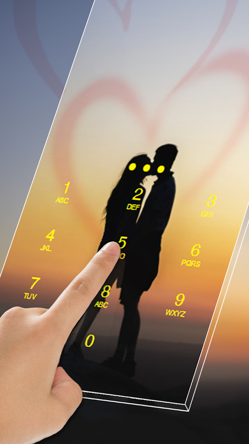 Romantic Love AppLock Theme- screenshot