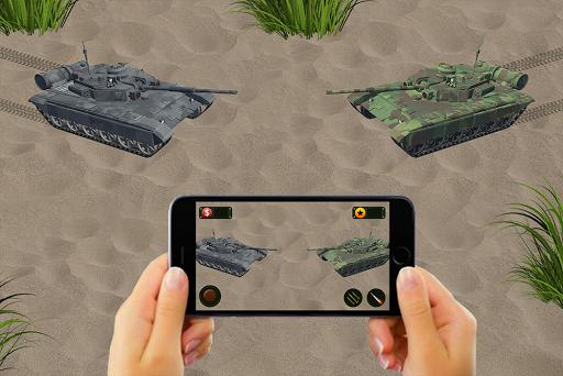 RC Tank Remote Control Sim AR. 0.1 screenshots 9