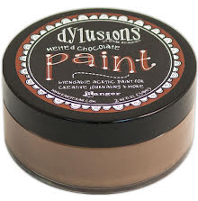 Dylusions Paint 59 ml - Melted Chocolate