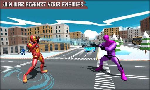 Iron Superhero War - Superhero Games 1.15 screenshots 6