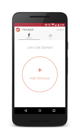 android Trainer - Workout Tracker Screenshot 0