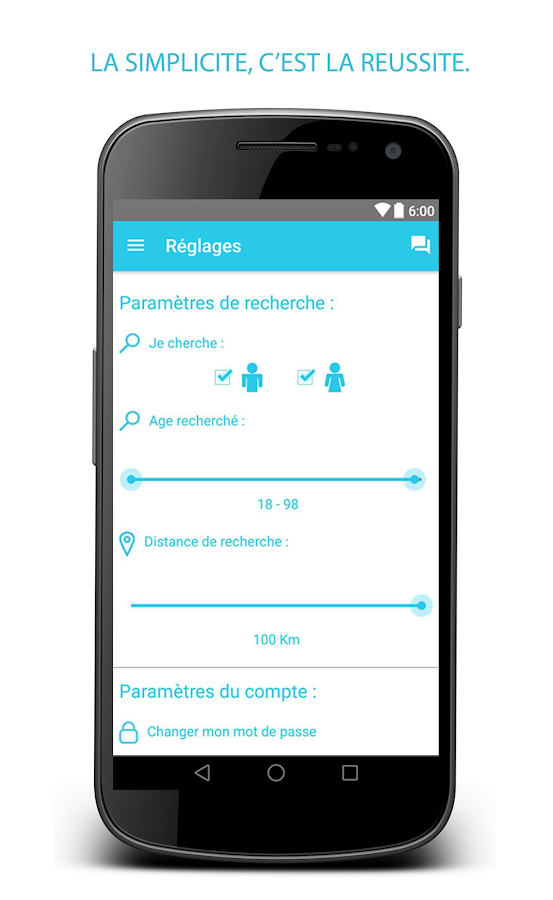 Rencontres gratuites android