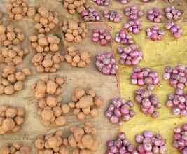 Photo: Potatoes Red Onions Onokudeli (Ankadeli) Market Orissa