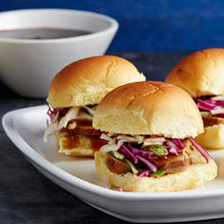 Sweet and Sour Pork Sliders.
