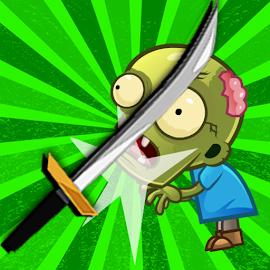 Ninja Kid Knife Flip Challenge - Dash and Slash
