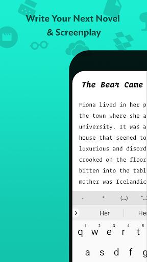 JotterPad - Writer, Screenplay, Novel 12.10.3-pi Screenshots 1
