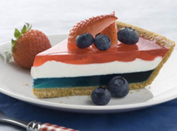 Fourth Of July Patriotic Pie