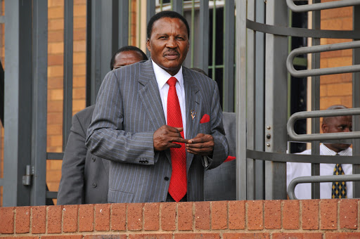 The late Reverend Glayton Modise of International Pentecostal Church, pictured on January 26 2009. The church has been wracked with feuding following his death in February 2016.