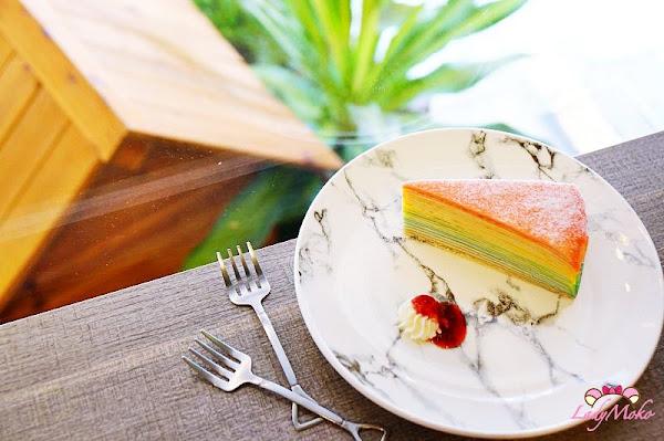 三重菜寮站美食 翻轉Flip,彩虹千層與抹茶控甜點滿漢全席