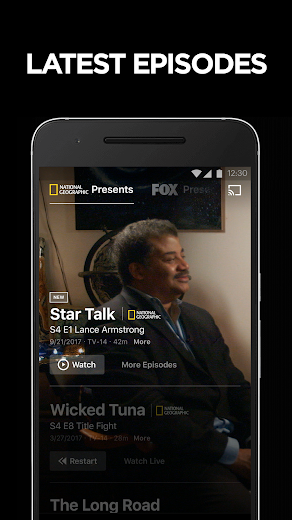 Screenshot 1 for National Geographic's Android app'