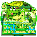 Cute Frog Nature Keyboard Theme🐸 icon