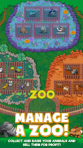 Idle Zoo Tycoon: Tap, Build & Upgrade a Custom Zoo 1.0.2 mod screenshots 1