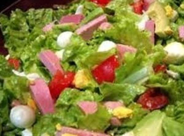 Meal-in-a-salad