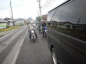 Photo: お泊りメンバー、会場に向かうの図。俺の3TYに乗るのはmasaru氏。
