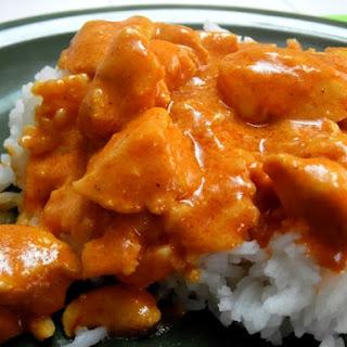 Curry Butter Chicken.