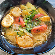 Bun Cha Ca (Dill Fish Cake Tamarind Soup)