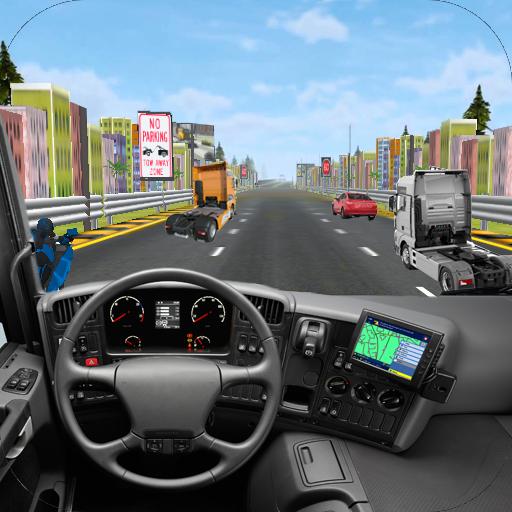 Highway Traffic Truck Racer 3D