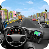 Highway Traffic Truck Racer 3D