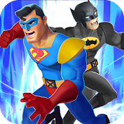 Superhero Man Fighting: City Crime Battle