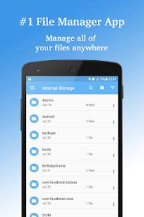 File Manager - SD File Explorer PRO - náhled