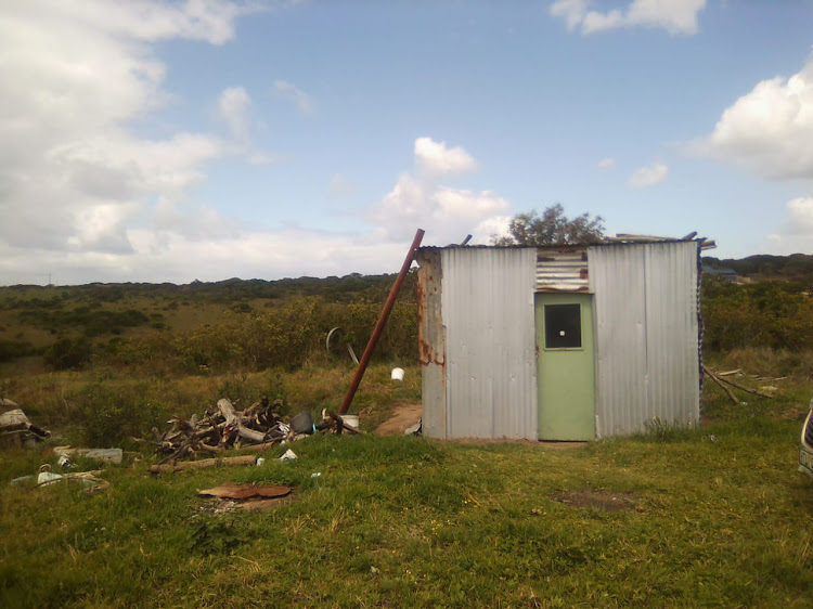 The Mnyaka family from Chintsa West, outside East London, have until the end of February to break down the shack they have called home for decades.