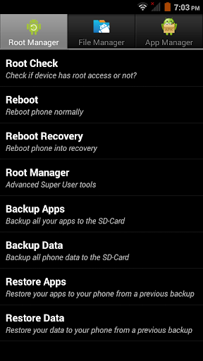 Root Toolbox