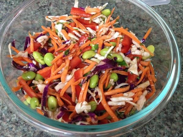 Asian Edamame Salad Recipe