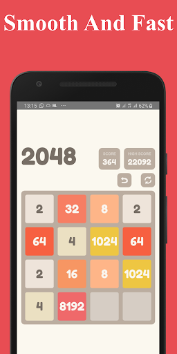 Number Puzzle:  2048 Puzzle Game 2.5 screenshots 6