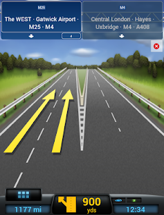 CoPilot Premium UK+Ireland GPS - screenshot thumbnail