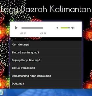 Song Daerah Kalimantan - náhled