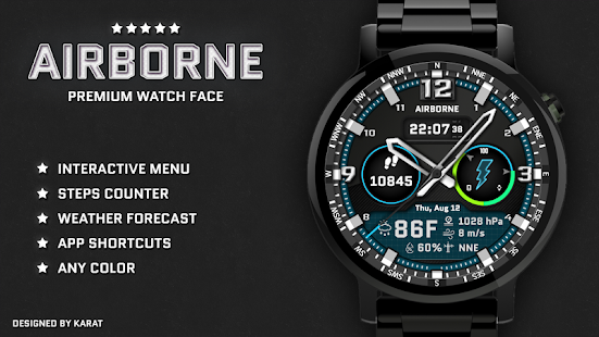 Airborne Watch Face Screenshot