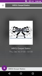 WBOU Gospel Station - náhled