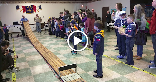 Pack 416 Pinewood Derby