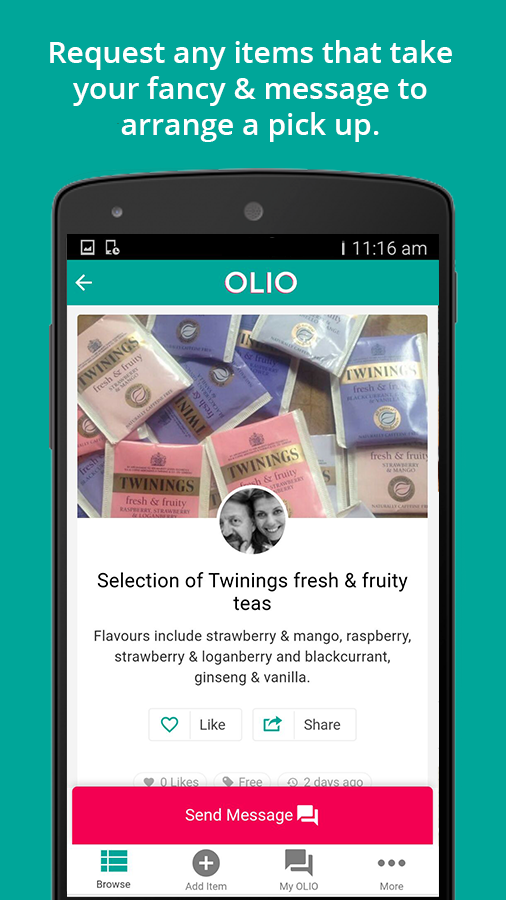 OLIO - Food Sharing Revolution- screenshot