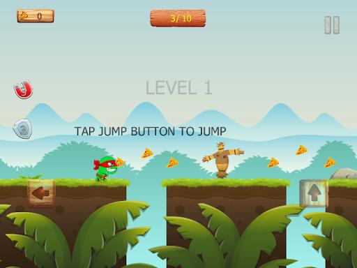 Ninja jump: Mutant kids adventure HD game apkmr screenshots 13