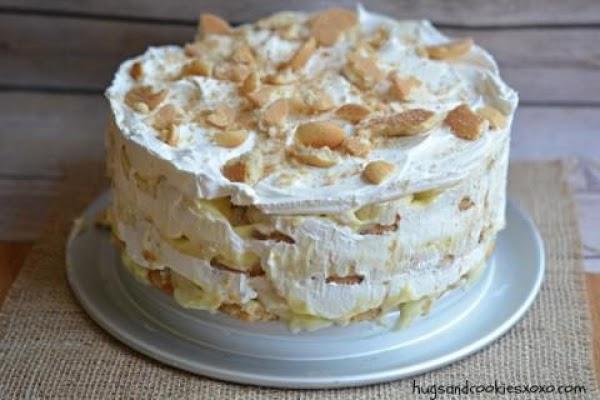 Banana Ice Box Cake Recipe