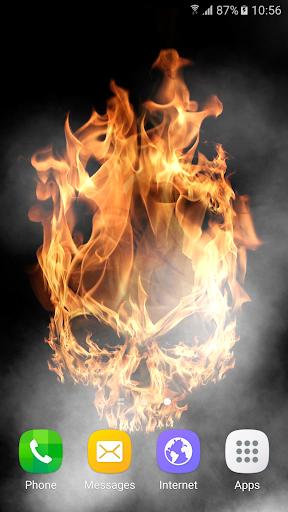 Fire Live Wallpaper 1.0.6 screenshots 1