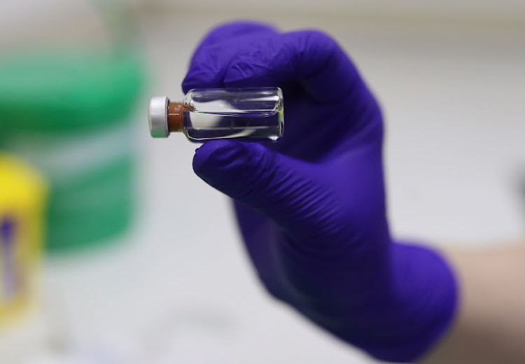Preparation of the Pfizer vaccine. Picture: Yui Mok/PA Wire