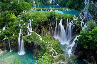 Photo: waterfalls at Plitvicka Jezera National Park