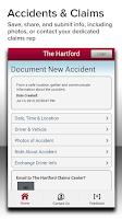 Screenshot of The Hartford Auto & Home