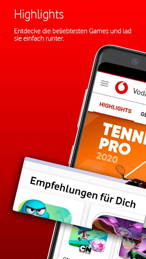 Vodafone Games 1.9.0 screenshots 1
