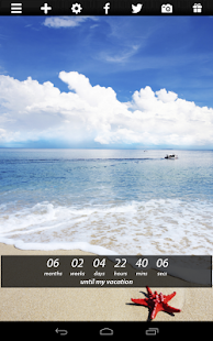 Countdown Widget Capture d'écran