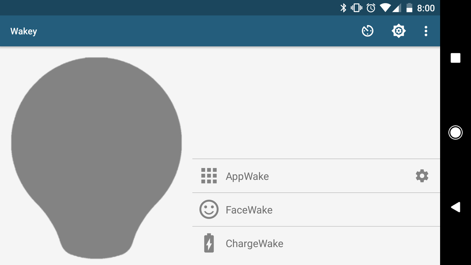 Wakey - Control your screen sleep and brightness- screenshot