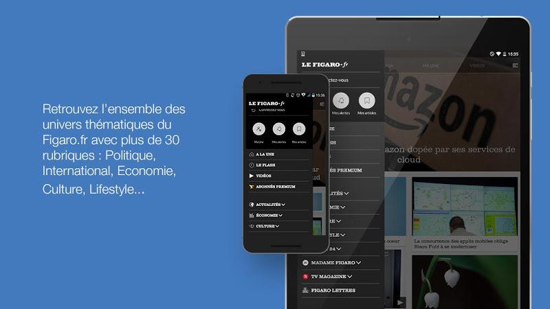Le Figaro.fr: Actu en direct Screenshot 6