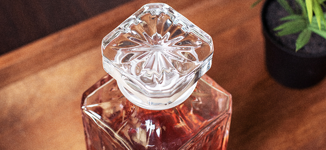 The Ornate Stylings Of A Whiskey Decanter