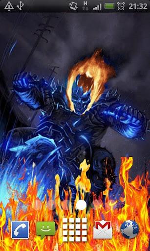 Ghost Rider Death Flames LWP
